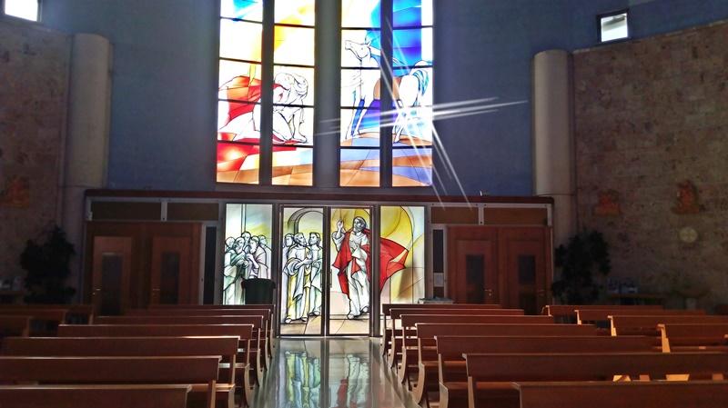 San Paolo ai Cavoni - foto delle Vetrate Artistiche della parrocchia di San Paolo