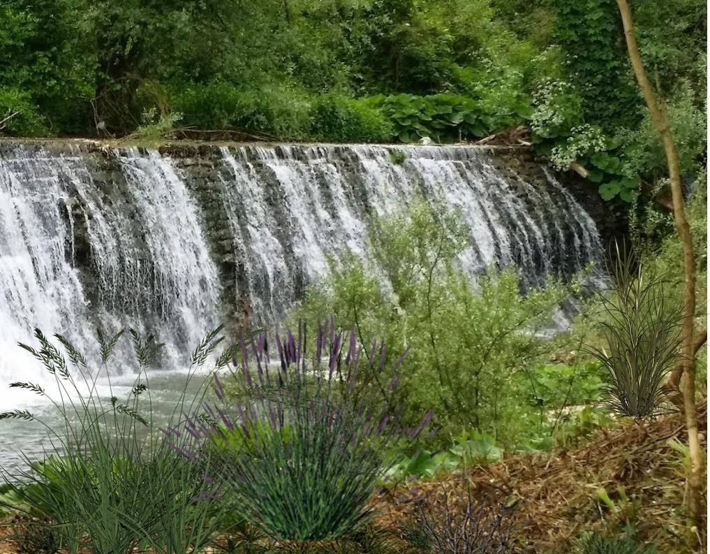 il fiume cosa - Cascata