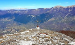 monte serra alta - Croce in evidenza
