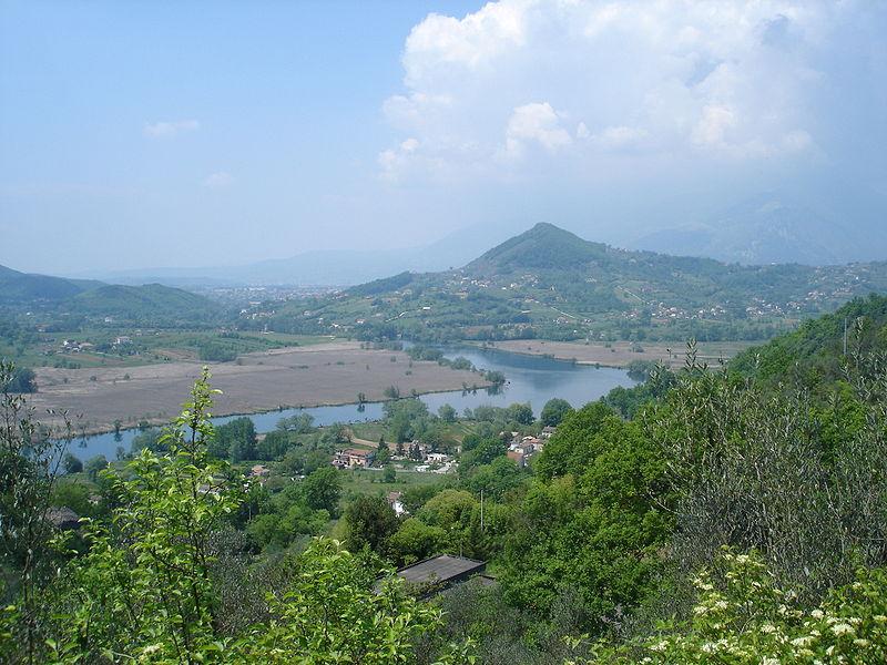 il lago di Posta Fibreno - Il Lago Visto Dall'alto