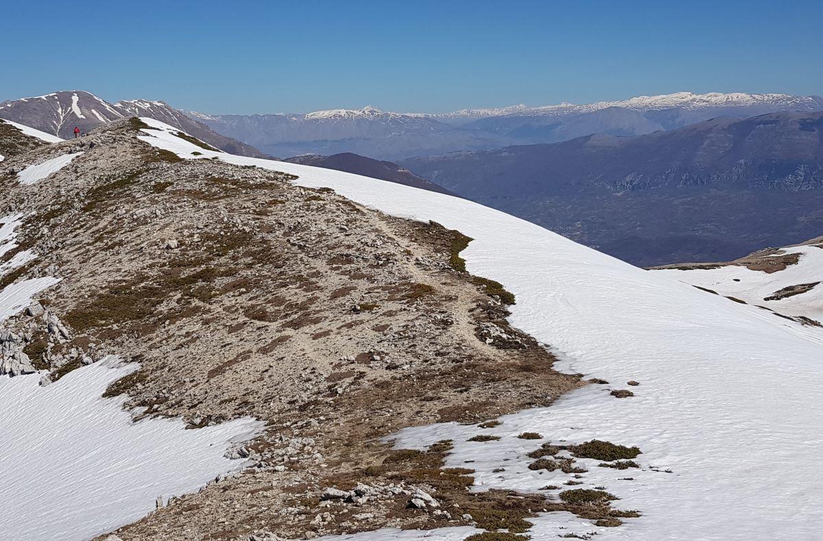 monte monna - la montagna sul sentiero