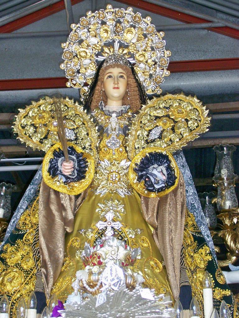 Santa Maria Salome - statua della santa