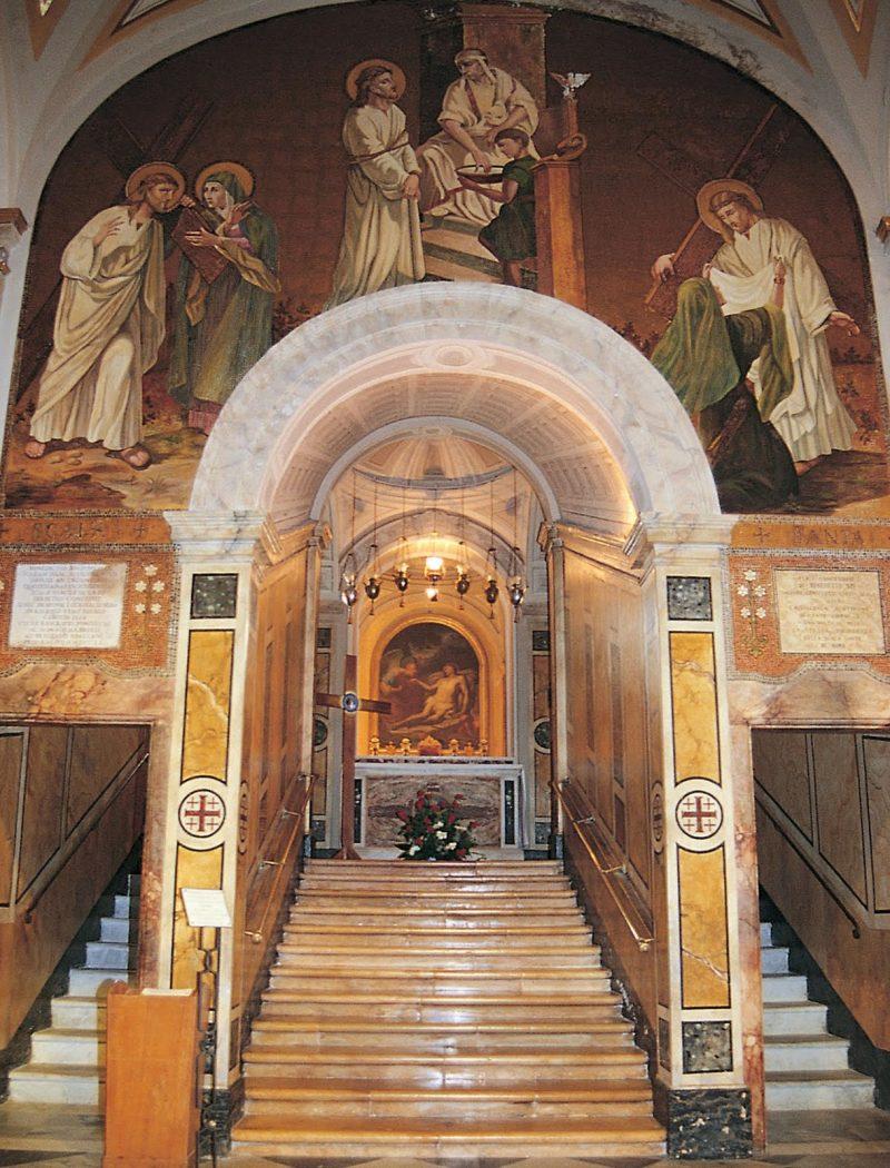 Santa Maria Salome - scala santa
