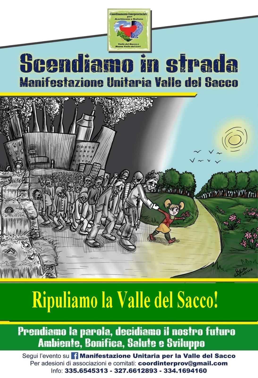 il fiume Sacco - manifesto per la salvaguardia del fiume