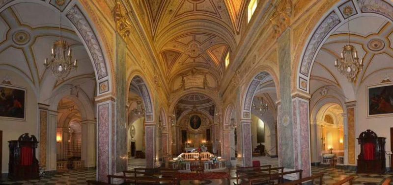Santa Maria Salome - interno basilica