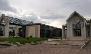 Conservatorio Licino Refice- il Conservatorio di frosinone sullo sfondo
