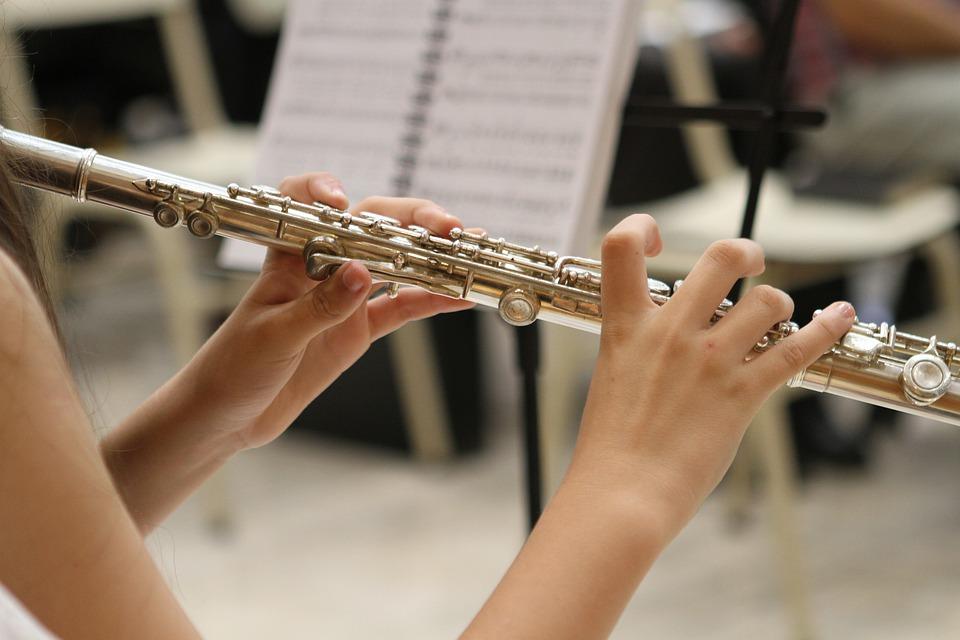 Conservatorio Licino Refice di Frosinone - Flauto Traverso in primo piano