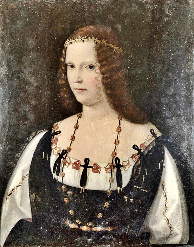 Lucrezia Borgia - dipinto di Lucrezia Borgia