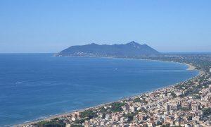 Terracina spiaggia della Ciociaria - Terracina vista dall'alto