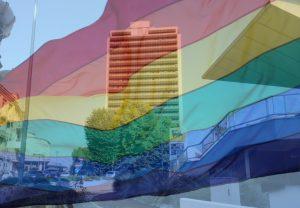Lazio Pride - Grattacielo Arcobaleno