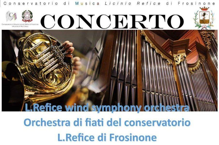 Refice wind symphony - Locandine Refice