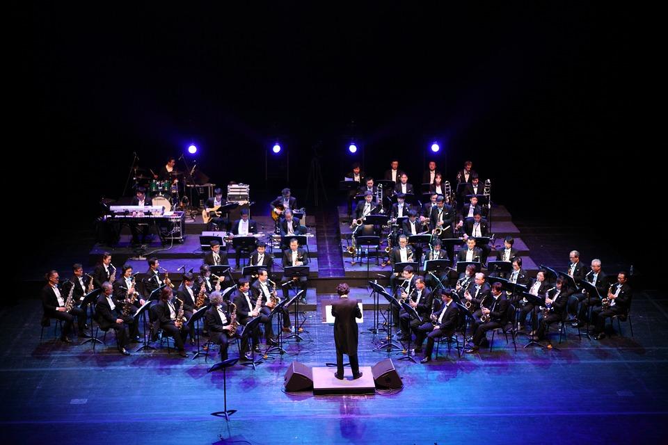 il festival dei conservatori - Musicisti che provano in teatro