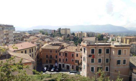 raccolta differenziata a Frosinone - panorama dall'alto