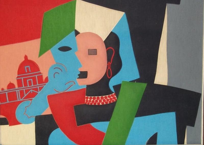 La Italienne di Picasso - Ritaglio
