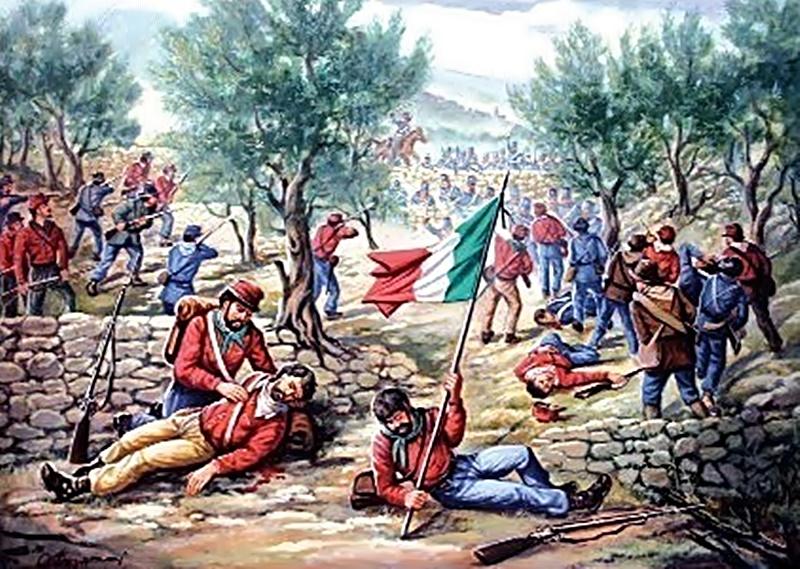 Risorgimento ciociaro - Garibaldini nelle campagne ciociare