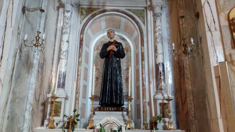 San Gerardo - la statua del Santo