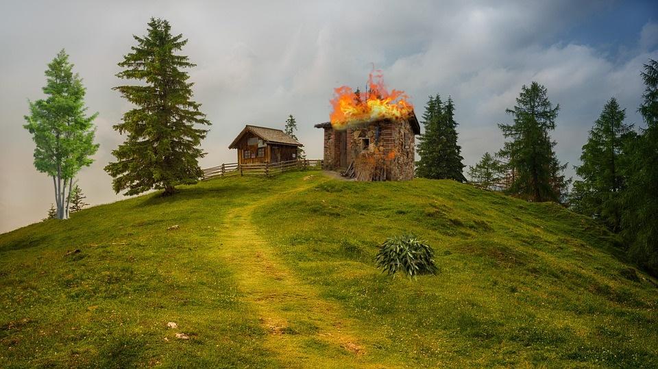 risorgimento Ciociaro - Casa In Fiamme
