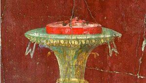 La torta deglgi antichi romani - Cassata Oplontis