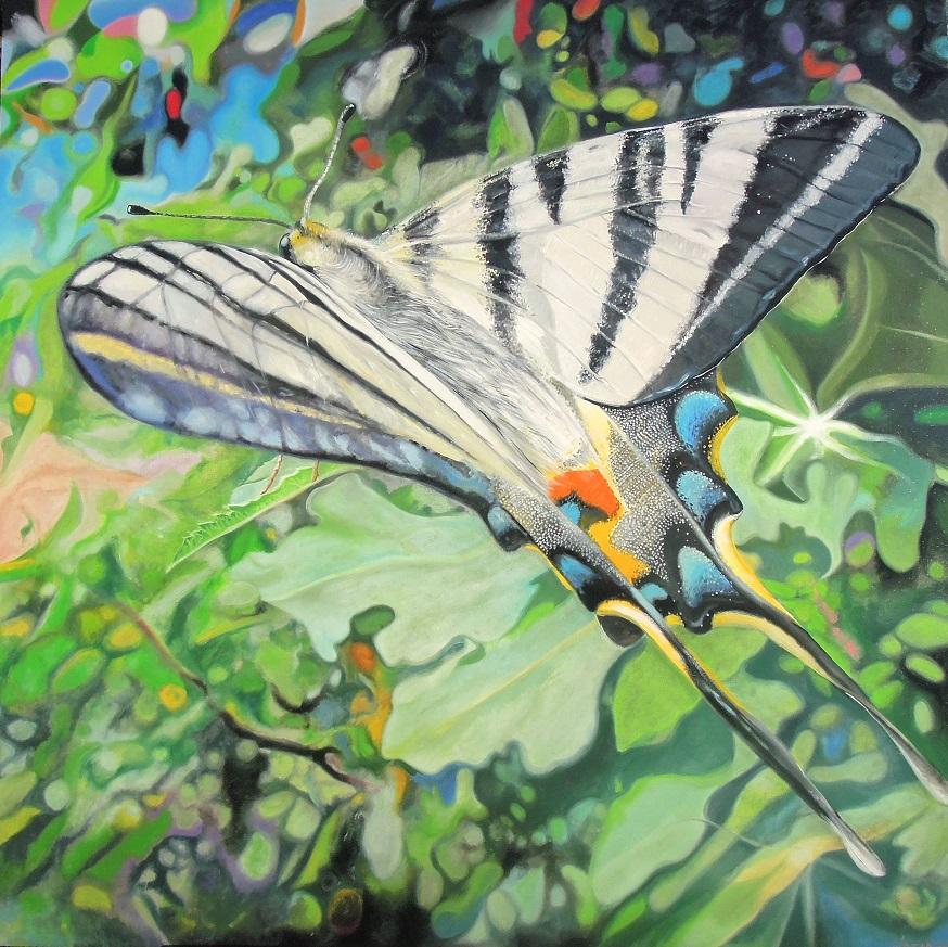 René Kérozen - Farfalla nel bosco