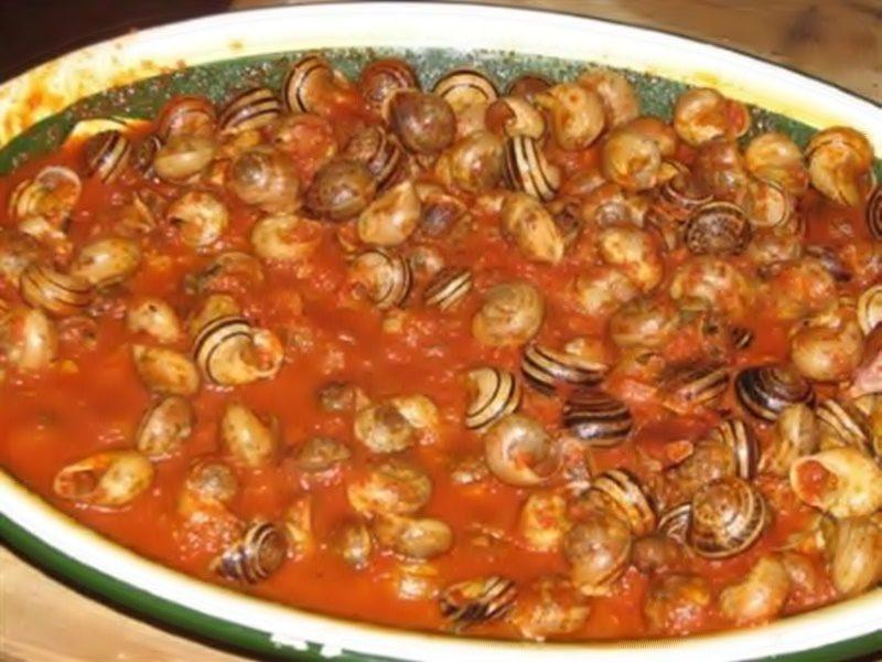 cucinare le lumache - Piatto Di Lumache