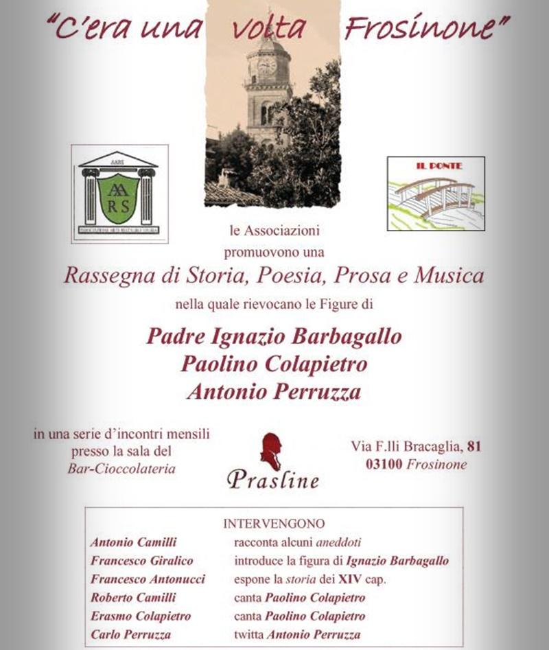 Francesco Antonucci - Evento