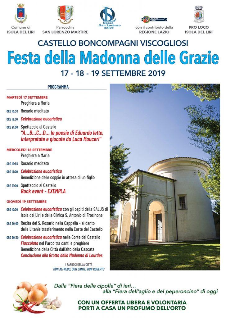 Madonna Delle Grazie - manifesto
