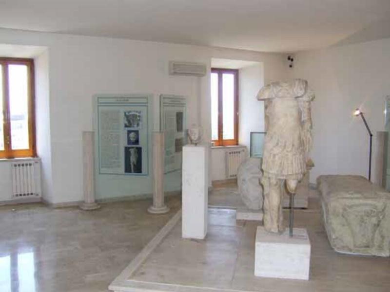 il museo archeologico di Frosinone - Statua presente nel museo