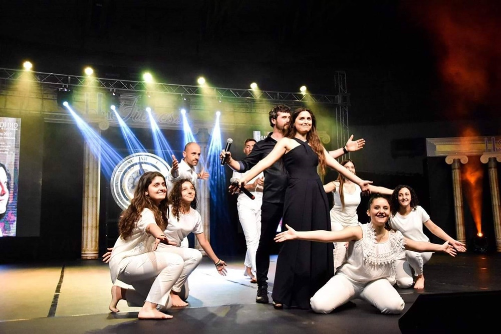 Chiara di Dio - Lo spettacolo sul palcoscenico