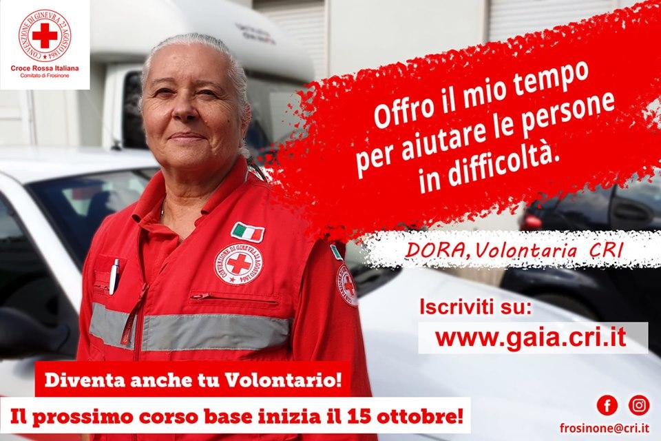 volontari per la croce rossa - Dora una volontaria
