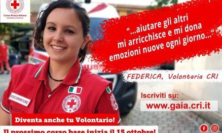 volontari per la croce rossa - Federica
