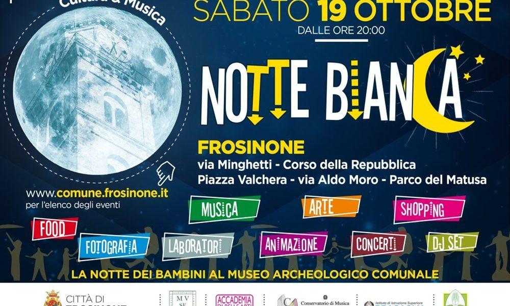 Notte Bianca a Frosinone - La Notte Bianca Della Cultura Sabato 19 Ottobre