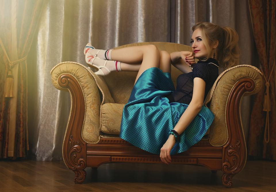 dress code ciociaro - Gonna Azzurra