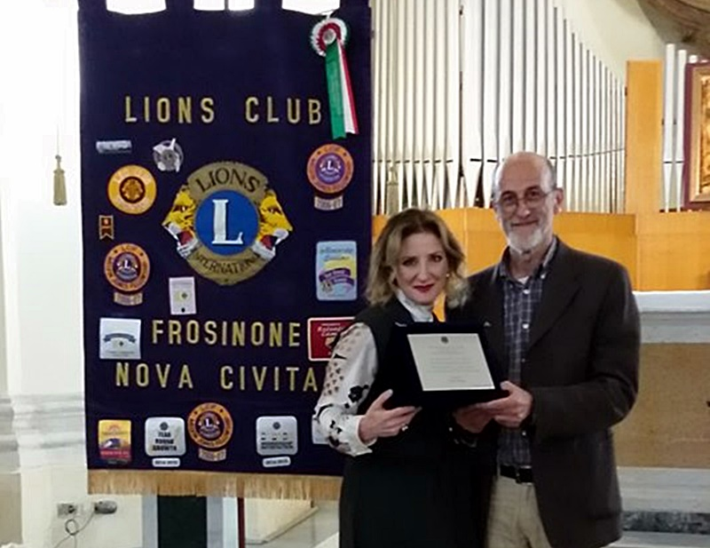 Lions club - Presidente Caterina Bracaglia