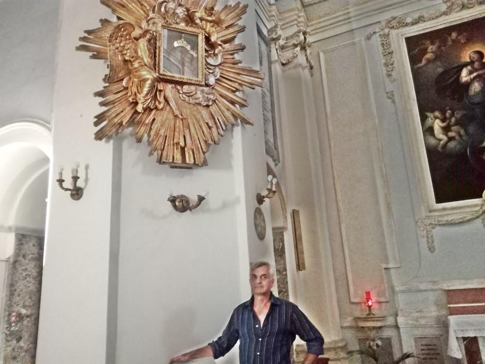 madonna del buon consiglio  - Francesco antonucci restauratore
