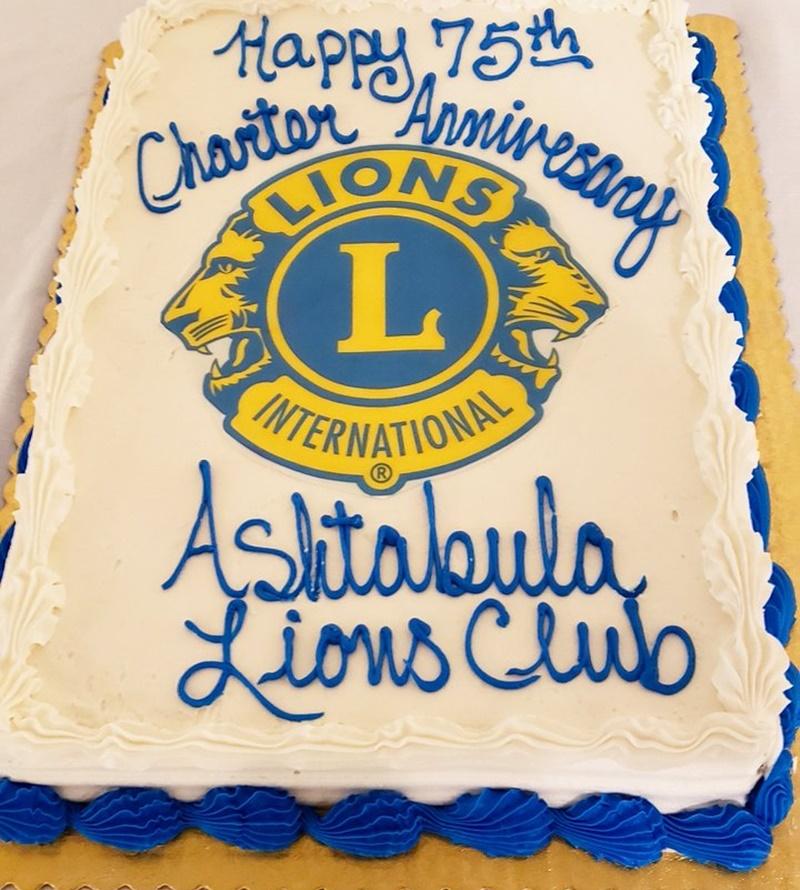 lions club - Torta celebrativa