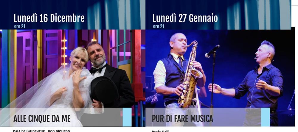 Teatro a Frosinone - attori in locandina
