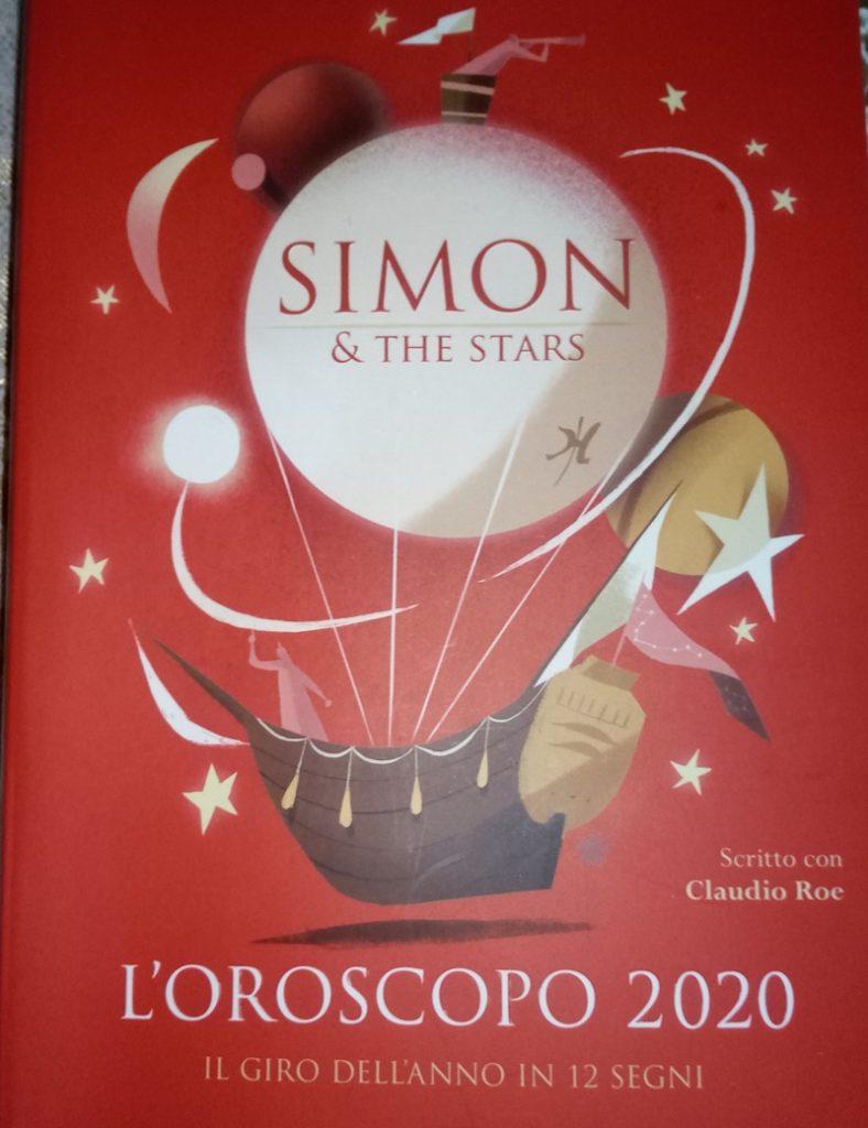 Simon & the stars - copertina del libro