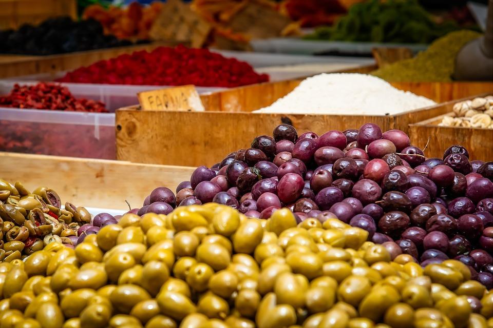 orto a novembre - Olive Raccolte