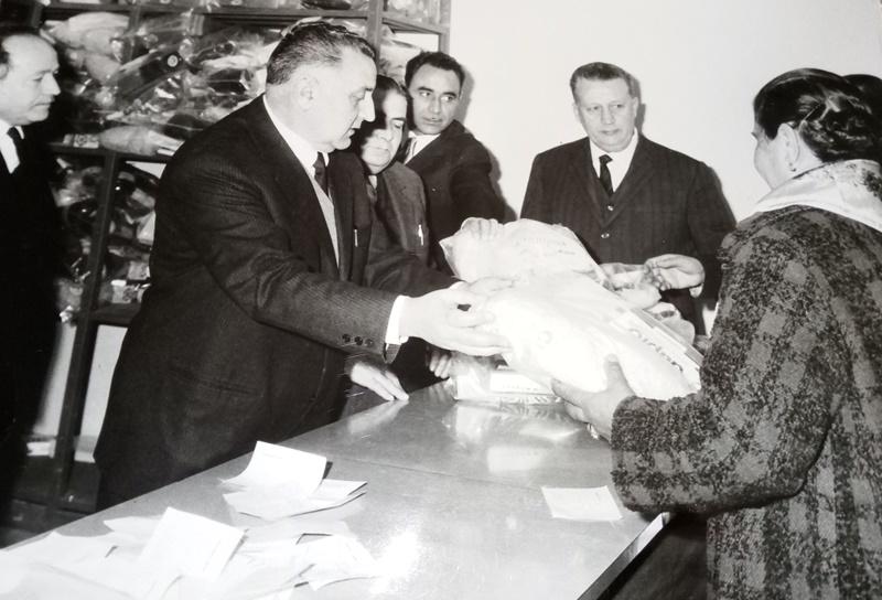 ECA di Frosinone - la consegna dei pacchi