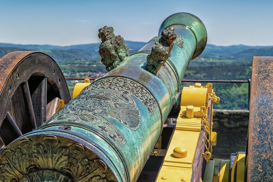 La rocca di Frosinone  - Cannone non armato