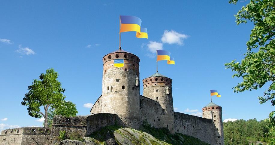 La rocca di Frosinone - Fortezza con le torri in evidenza