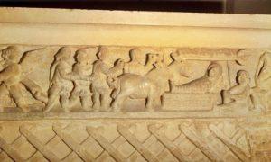 il presepe più antico del mondo - Presepio su sarcofago