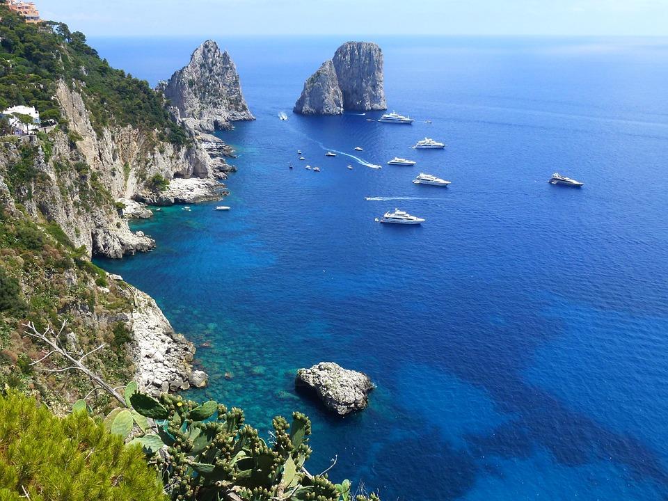 i fidazati ciociari - isola di Capri