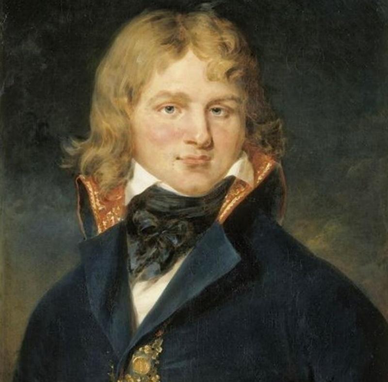 il generale Championnet - il generale in un dipinto