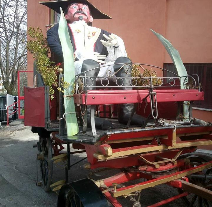 Carnevale in Ciociaria - Radeca con il fantoccio