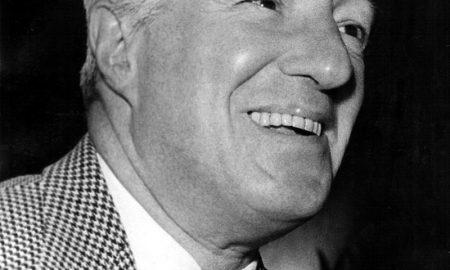 Vittorio De Sica - primo piano di Vittorio De Sica