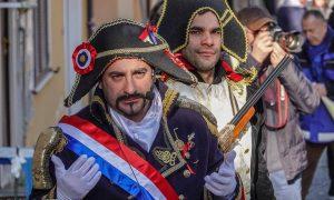 Festa della radeca - Attore Che Impersona Il Generale