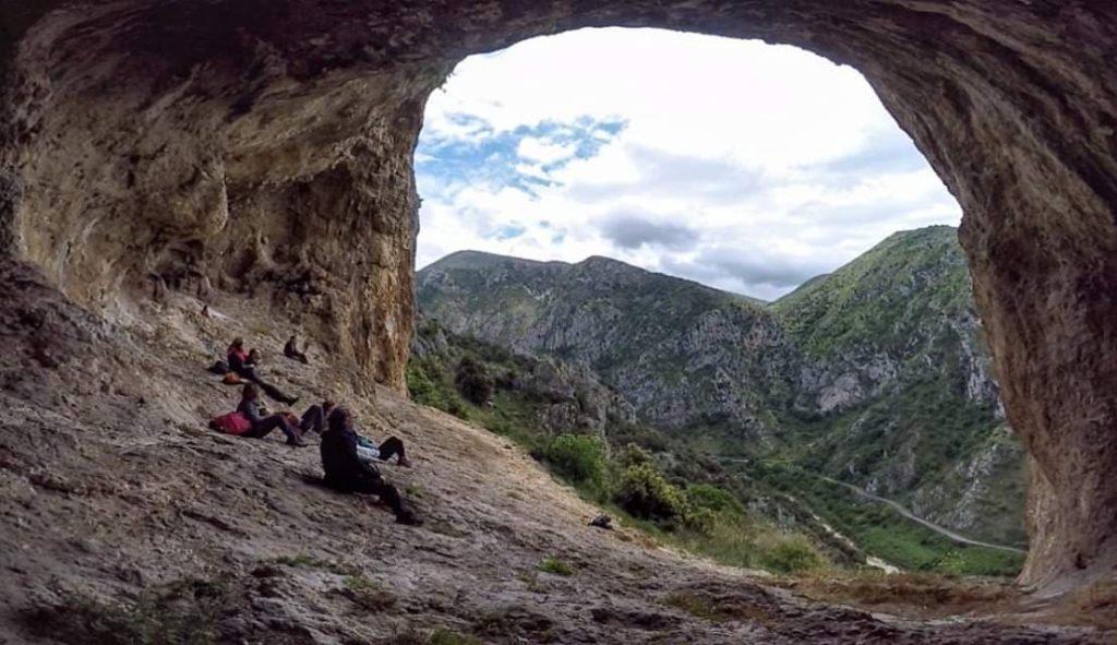 Damiano Tullio - Grotta in alta quota
