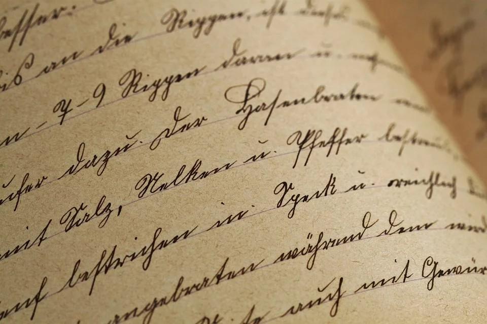 le marocchinate tornano - Missiva con bella calligrafia