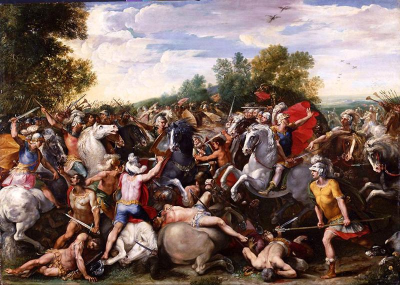 Battaglia Dei Romani E Dei Veienti
